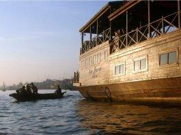 Le Jarai crucero sobre el Mekong