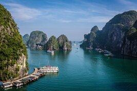 La Bahía de Halong en el norte de Vietnam
