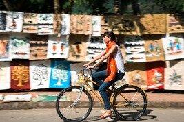 Ciclismo campo a través en Laos
