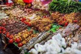 Mariscos y comida callejera en Vietnam