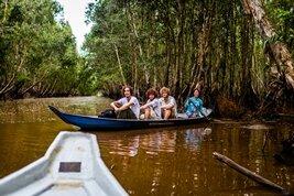 Crucero por los canales del Delta del Mékong en Vietnam