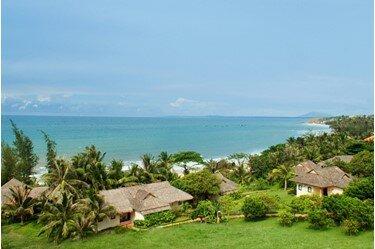 Resort de lujo, relajación en la playa Vietnam