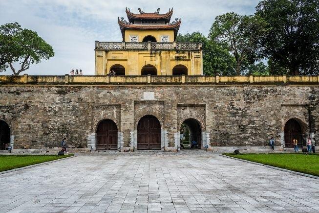 Fortificaciones e historia de Hanoi