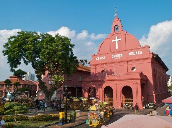 Iglesia de San Pablo en Malaca