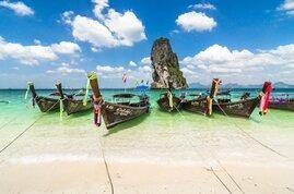 Navegar hasta Krabi, posiblemente la isla más bonita de Tailandia