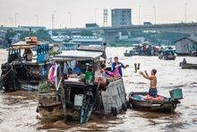 LEl Mercado Flotante de Cai Rang y Can Tho - Delta del Mekong Vietnam