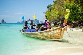 Ferry medio de transporte marítimo preferido en Tailandia para viajar entre islas
