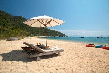 La paradisiaca playa de Nha Trang, en Vietnam