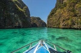Aguas claras y playas de maravilla en el Mar de Andaman
