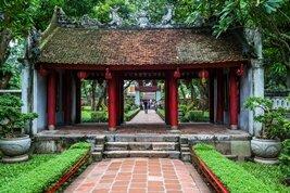 El templo de la literatura, la primera universidad de Vietnam