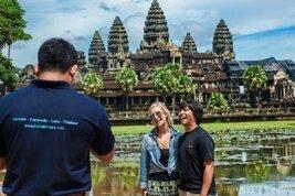 Los templos del reino Jemer en Siem Riep, Camboya