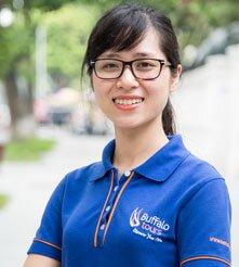 Thuy Linh, especialista de viajes en Buffalo Tours
