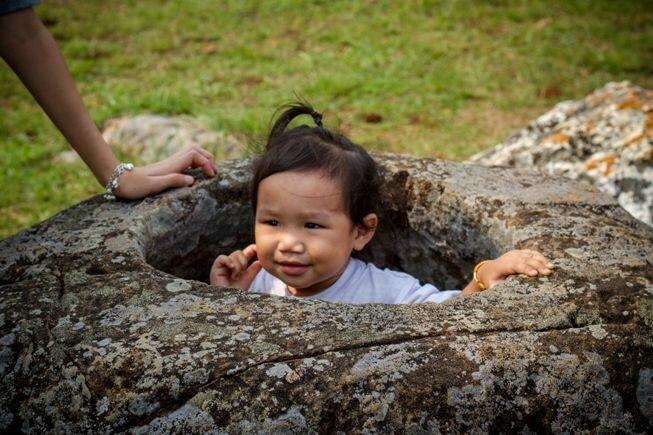 Llanura de las jarras Laos