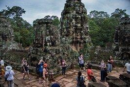 Visitar los templos de Angkor en Tuk-Tuk