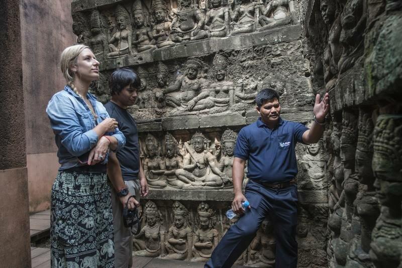 guia turistico habla espanol Siem Riep Angkor Camboya